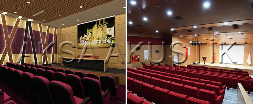 Bursa konferans salonu ses izolasyonu